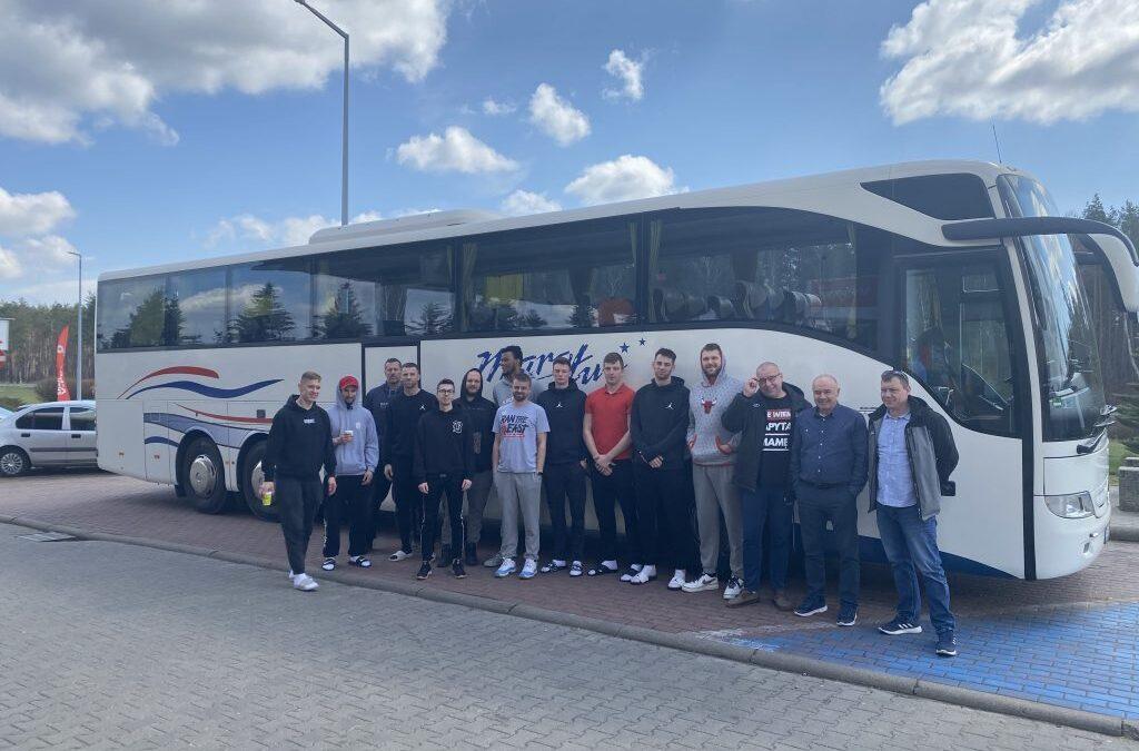 We are a bus operator for MKKS Żak Koszalin!